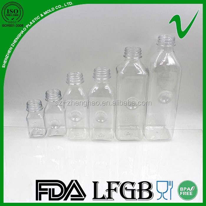 Classic style hot sale competitive price food grade clear PET empty plastic mineral water bottle with tamper proof cap