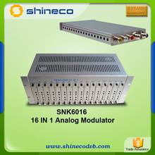 Analog TV Solution 24 channel combiner modulator