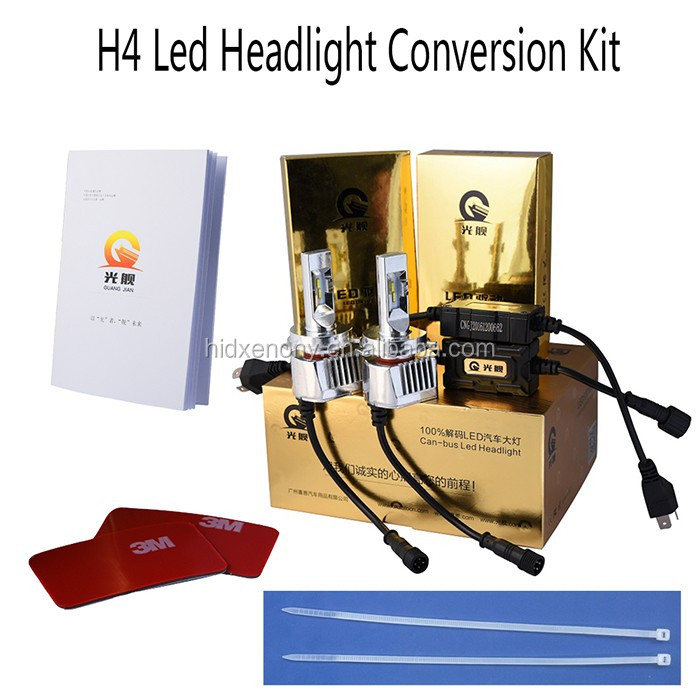 9005/9006 LED Headlight 60W 8000 lumen led headlight car led headlight bulbs
