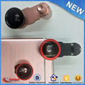 2017 Latest Fashion Top Design Mobile Phone Lens Cell Camera Lens