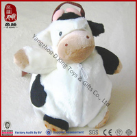 New plush cow backpack for kids
