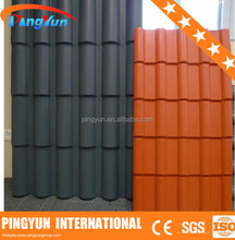 synthetic resin roof tile/lightweight roofing materials/wholesale building materials