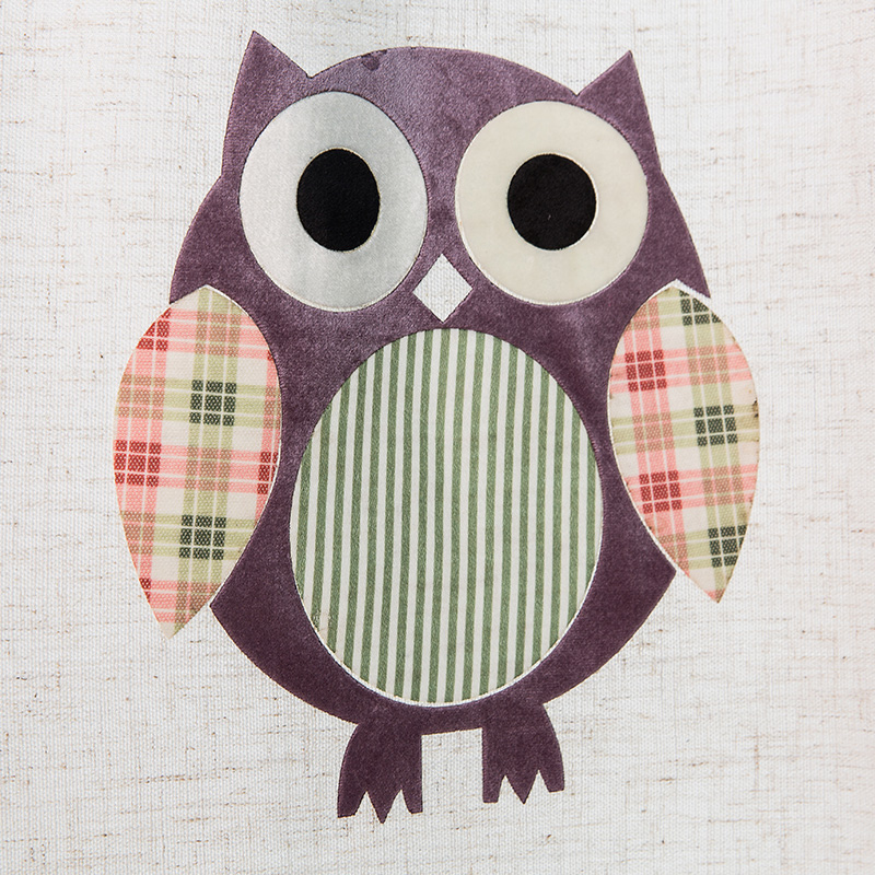 print owl pattern animal blackout wholesale curtain for kids