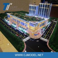 Hot Sale Miniature Building Scale Models