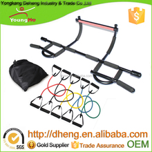 Hot Selling Import natural latex Workout Bands with Door Gym Pull Up Bar