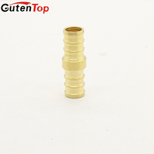 GutenTop High Quality NSF Certificate Lead Free Brass nipple Hose barb Coupling