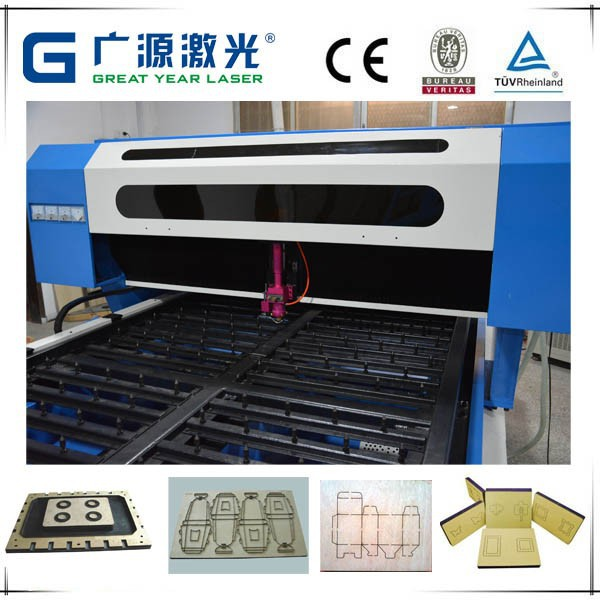 Flat Die Board Small Laser Cutting Machine Price for Making Cigar Case/Box , laser cutting machine price