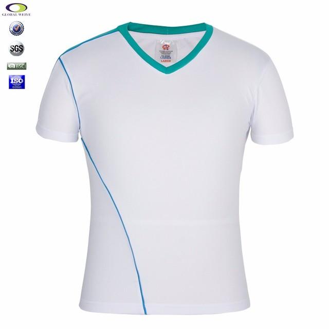 Cheap Custom Shenzhen Blank Bamboo V Neck T Shirt