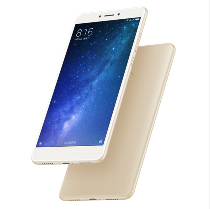 "Original Xiaomi Mi Max 2 Max2 Mobile Phone 4GB RAM 64GB ROM 5300mAh 6.44"" Snapdragon 625 Octa Core 1080P 12MP QC 3.0 Andriod 7.1"
