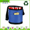 6-pack Soft Customizable Collapsible Wine Carrier Tote Bag Wholesale