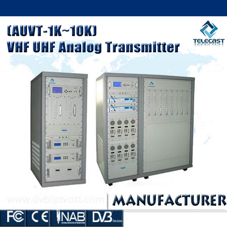 All Solid-state 10KW UHF Transmitter made in China