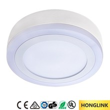 12w 18w double color surface mounted LED panel light