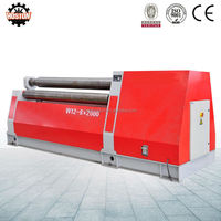 Hoston Brand Hot Sale Hydraulic Plate Bending Rolling Machine with 4 roller