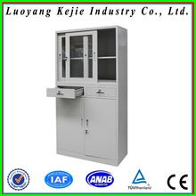 Cheap metal metal wardrobe cupboard design with four drawers vintage steel lockers with best service