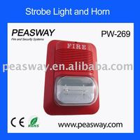 2015 new strobe light PEASWAY for fire alarm system