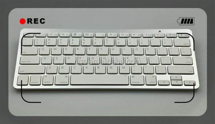 hot selling wireless keyboard for iphone/ipad/samsung
