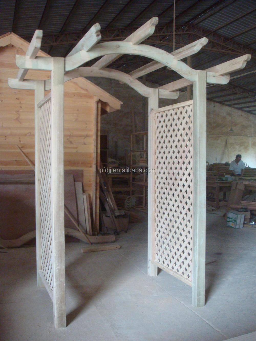 Prefabricated Wooden Gazebo Hot Tub Manual Assembly