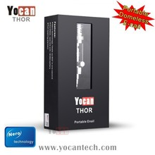 Yocan Vaping instead of Traditional Combustion THOR portable enail wax cloud pen vaporizer wholesale with nero technology