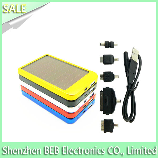 2600mah solar sun charger mobile has low factory price