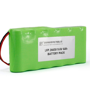 Factory price 26650 3S2P 9.6V 6Ah Rechargeable LifePo4 battery