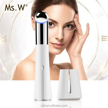 Ms.W Mni Anti Wrinkle Ion Beauty Eye Skin Care Massager Device Electric Vibrating Eyebad Remover Machine