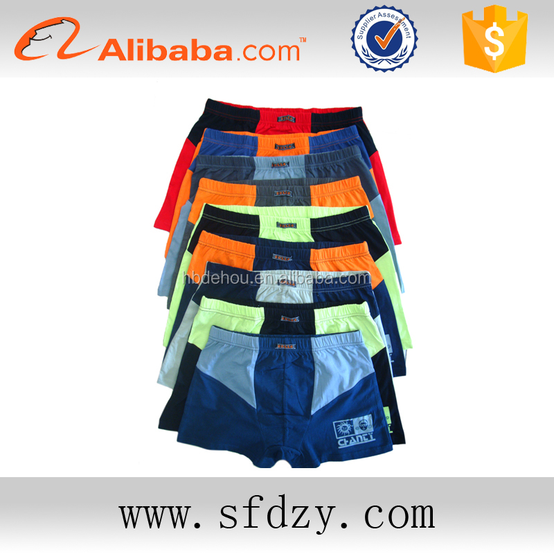 OEM supply type China wholesell man's boxer shorts, man's underwear