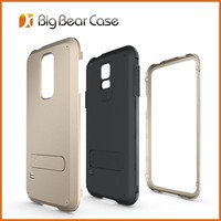 3 in1 hybrid hard cell phone case for samsung galaxy S5 strong box case cover