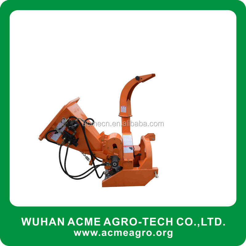 Factory direct CE wood cutting machine crusher machine tractor wood chipper for sale