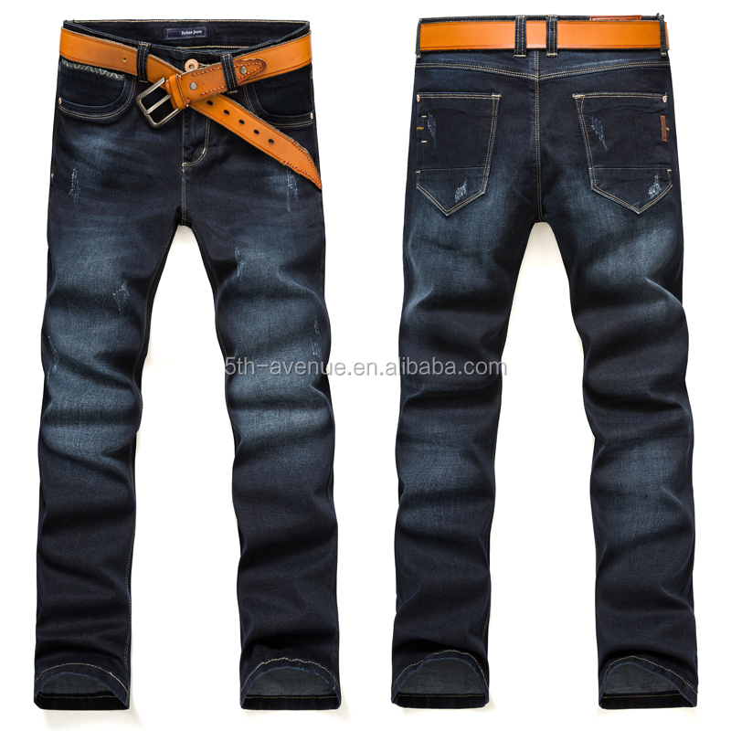 2016 hot selling ripped jeans men wholesale designer jeans bulk