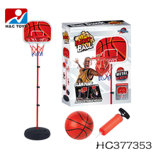 Cheap price ball games height adjustable movable basketball stand for wholesale HC377353