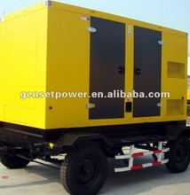 40kva to 500kva China Mobile Trailer Diesel Generator Set