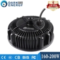200W waterproof electronic round shape UFO high bay round led driver