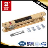 China low price sliding glass door lock hardware