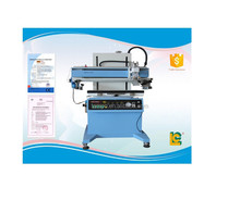 plastic files printing machine cards silk screen printer for PVC LC-700P