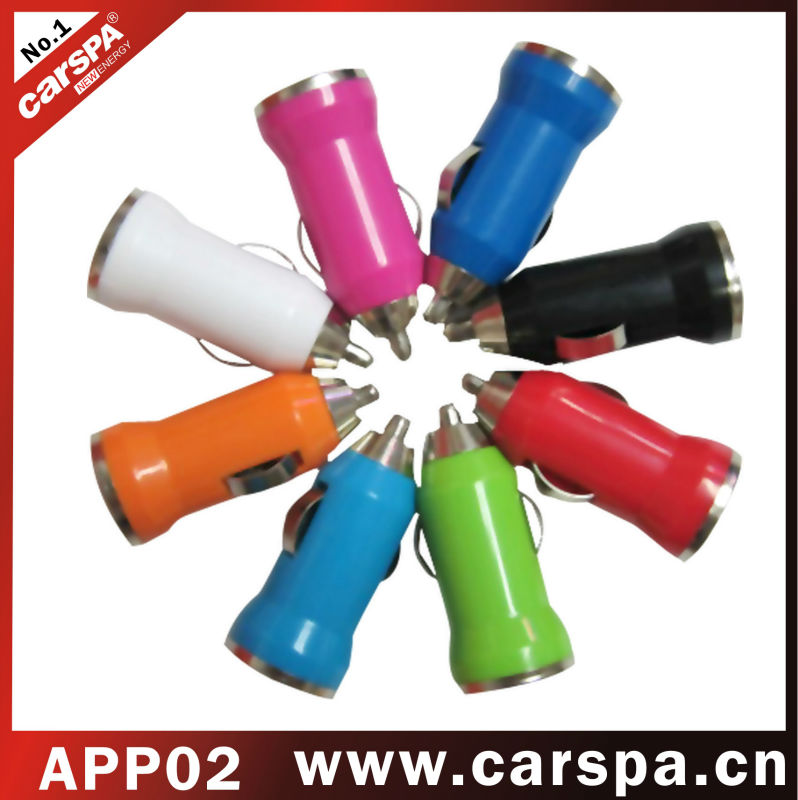 APP series USB car charger (APP02)