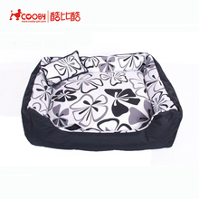 Honest suppliers Hot new products oxford fabric soft bolster pet bed for dogs & cats