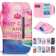 For Samsung Galaxy S3 Mobile phone Accessory Leather Printing Case