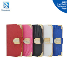 Book Flip Leather Wallet Cover cute case for htc one 2 m8