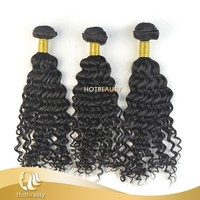 High Quality Unprocessed Virgin Brazilian Human Wet and Wavy Tight and Thick Hair Weave