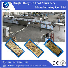 Fruit nuts candy bar making machine, cereal bar cutting machine