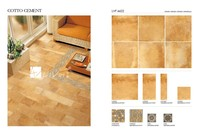Bathroom & Kitchen Non-Slip Glazed Porcelain Rusitc Floor Tiles LVF6622