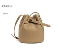 Classic Leather Bucket Bag for Woman Small Bucket Handbag Manufacturer