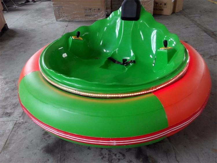 Original manufacturer amusement park fiberglass body battery powered UFO Adult Bumper Car FLAC-A30003