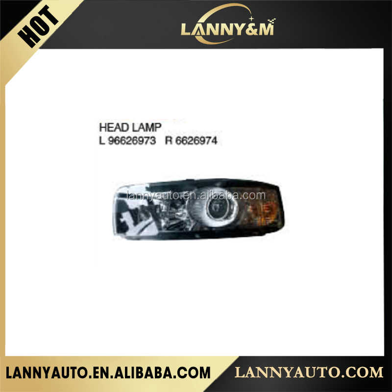 Automobiles parts Chevrolet Captiva 2012 head lamp for sale L96626973 R 6626974