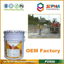 PU sealant adhesive, high quality polyurethane sealant 600ml sausage