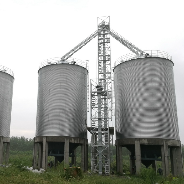 1000 m3 grain storage steel silo prices for farm