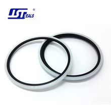 Simple groove PTFE mechanical shaft oil seal NBR ring