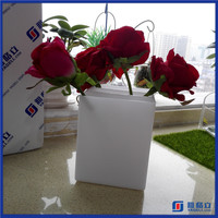 Popular Wholesale Functional Clear Acrylic Tube Flower Vases / Acrylic Plastic Vase / Acrylic Flower Holder