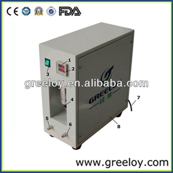 Greeloy Independent Air Dryer System/heatless regeneration adsorption drying machine