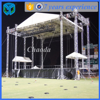 Outdoor concert stage roof truss equipment for sale